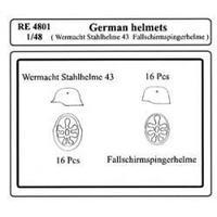 GERMAN HELMETS 1/48