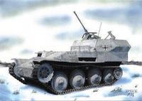 Flakpanzer 38 (t) Germ. WWII Anti-Aircraft Gun