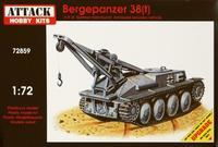 Bergerpanzer 38(t) German recovery vehicle Bergerpanzer 38 (t) German recovery vehicle