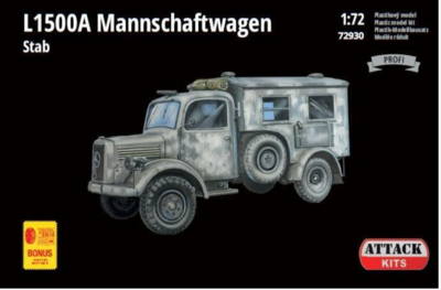 L1500A Personnel Carrier West & South Europe