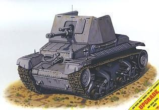 Pz Jäg 35 (t) German self-propel. antitank gun