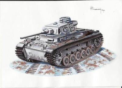 Pz.Kpfw III Ausf. J (L 60) Winterketten (early)