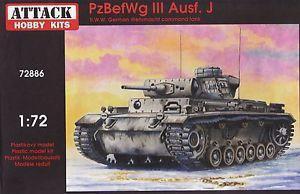 Pz.BefWg III Ausf.J commandd tank