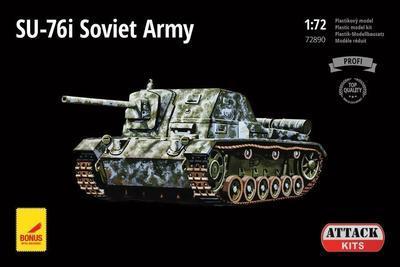SU-76I SOVIET ARMY - 1