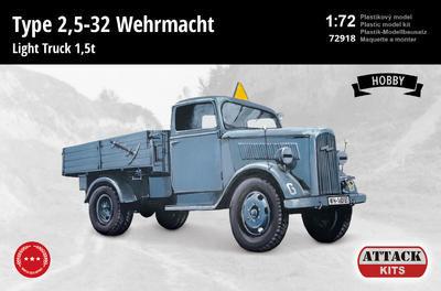 Type 2,5-32 Wehrmacht Light Truck 1,5 t - 1