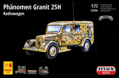 Phänomen Granit 25H Radiowagen (PE exterior set, resin details including full interior) - 1