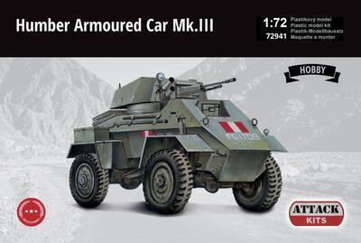 Humber Armoured Car Mk.III British Army Hobby Line - 1