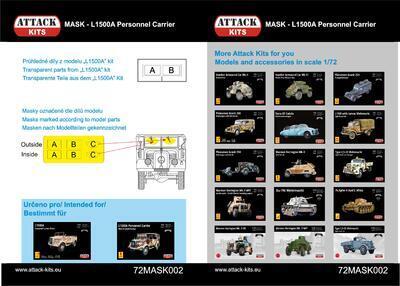 MASK - Phänomen Granit 25H Late Ambulance, Radiowagen, Propagandawagen