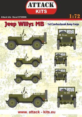 Jeep Willys MB 1st Czechoslovak Army Corps - 1