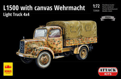 L1500A with canvas Wehrmacht Light Truck 4X4 - 1