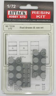 Fuel drums & can set - 1
