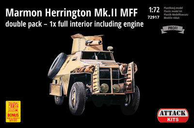 Marmon Herrington Mk.II MFF double pack - 1x full interior including engine - 1
