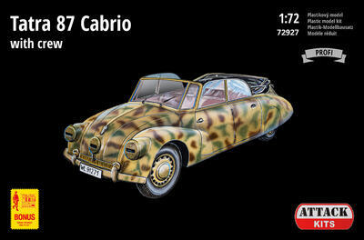 72927 Tatra 87 Cabrio with crew - 1