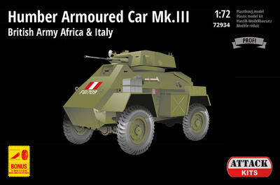 Humber Armoured Car Mk.III British Army Africa & Italy - 1