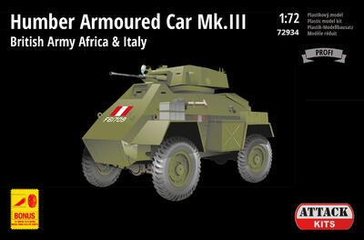 Humber Armoured Car Mk.III British Army Africa & Italy - 1