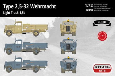 Type 2,5-32 Wehrmacht Light Truck 1,5 t - 2