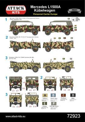 L1500A Personnel Carrier West & South Europe - 2