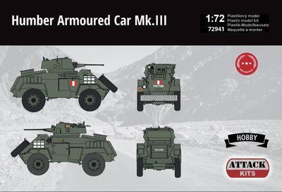 Humber Armoured Car Mk.III British Army Hobby Line - 2