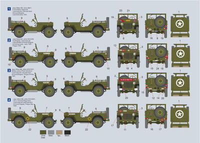 Jeep Willys MB Czech Independent Armoured Brigade - 2