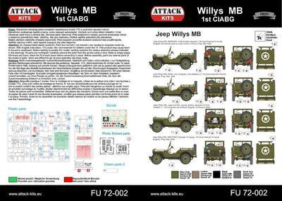 Willys MB 1st CIABG - 2