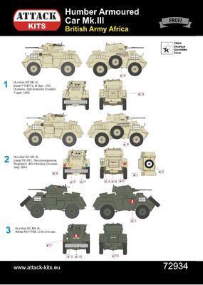 Humber Armoured Car Mk.III British Army Africa & Italy - 2