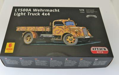 L1500A Wehrmacht Light Truck 4X4 - 2