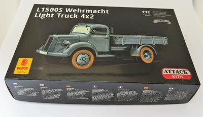 L1500S Wehrmacht Light Truck 4x2 - 2