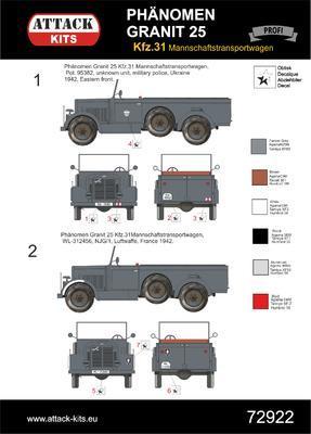 Phänomen Granit 25H Mannschaftstransportwagen - 3