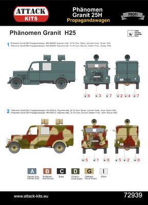 Phänomen Granit 25H Propagandawagen - 4