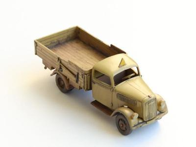 TYPE 2,5-32 Wehrmacht, light truck 1,5T AFRICA with cargo - 5