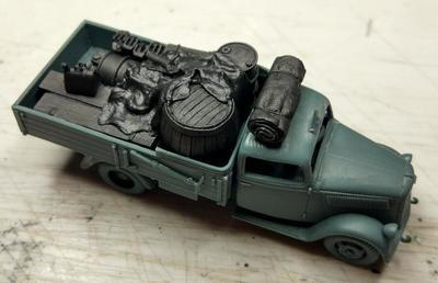TYPE 2,5-32 Wehrmacht, light truck 1,5T AFRICA with cargo - 7